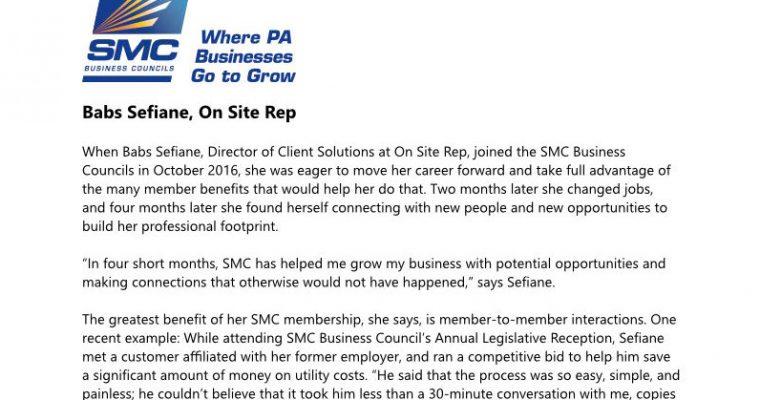 SMC Business Councils Membership Drive Case Studies